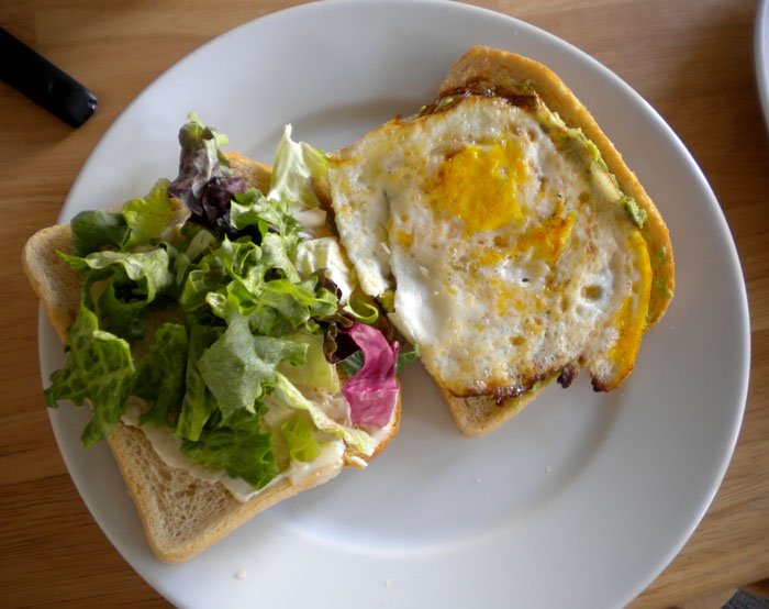 how to make the perfect fried egg sandwich