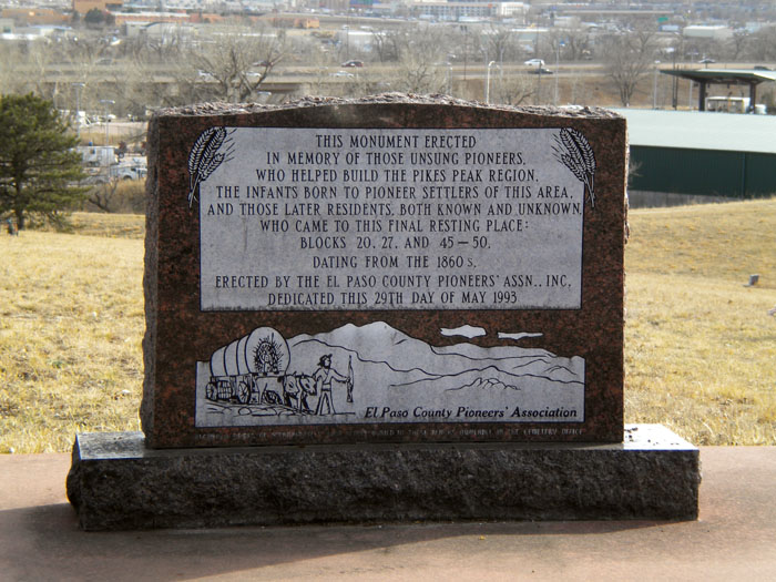 Evergreen Cemetery, Colorado Springs