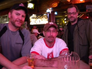 Greg McElvain, Christian Murdock, me