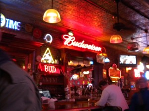 Tony's bar in downtown Colorado Springs