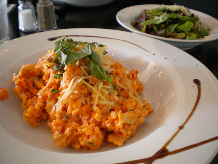 Risotto at Recess in Glendale