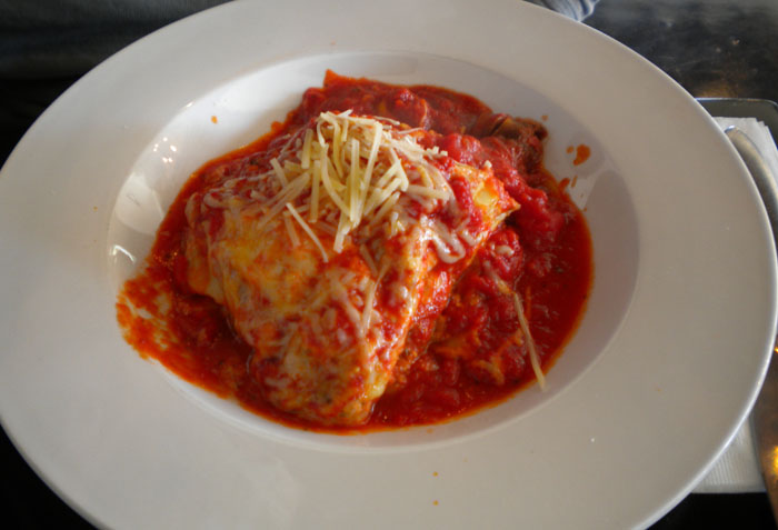 Lasagne at Recess in Glendale