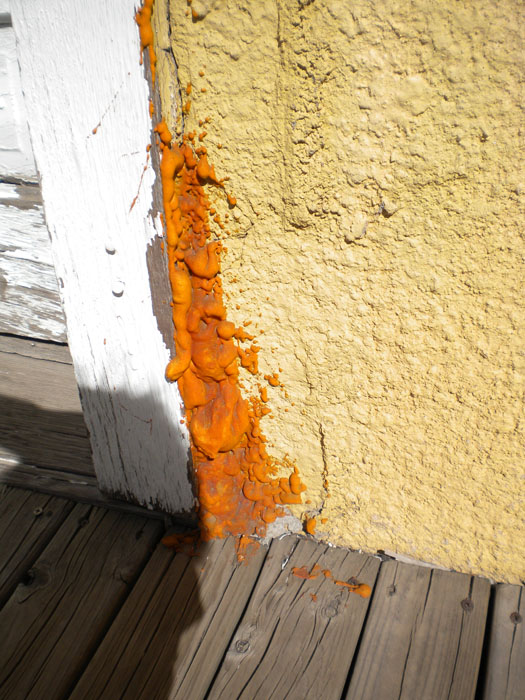 Exterior troubles? Try sprayfoam!