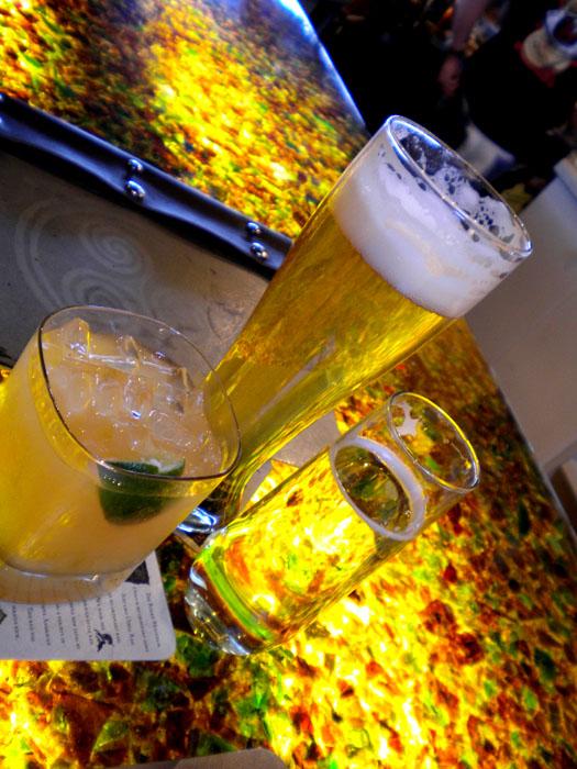 Drinks at Trinity Brewing, Colorado Springs