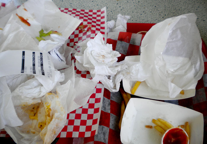 Drifter's Hamburgers, Nosh, Squeak, Alice's, Red Martini