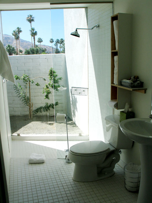 Bathroom at The Horizon Hotel, Palm Springs