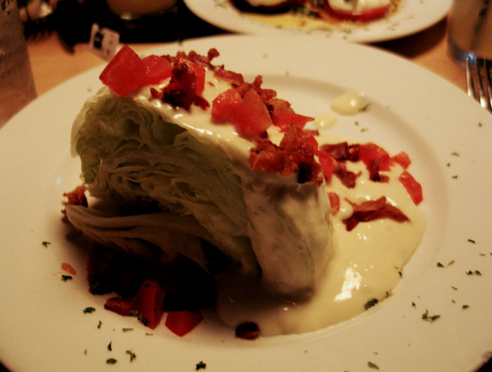 Iceberg wedge- my fave!