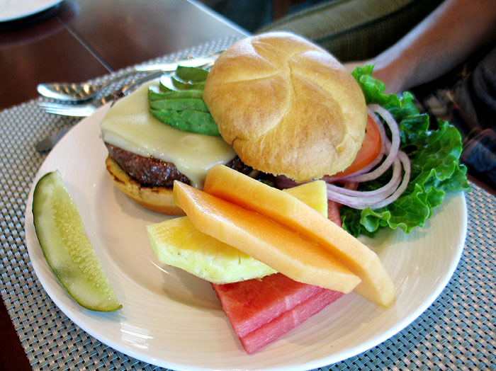 Cheeseburger from Escena Golf Club, Palm Springs