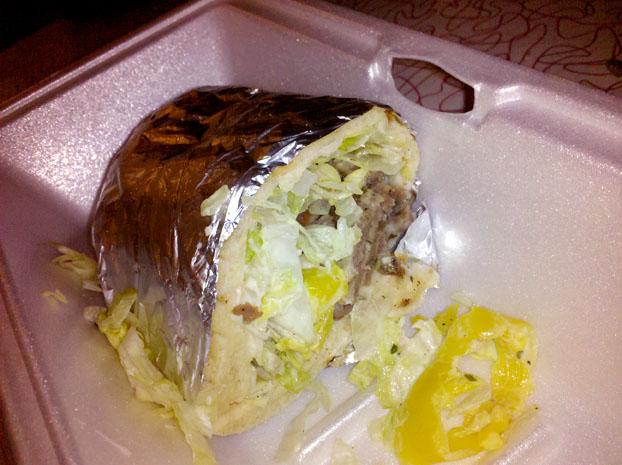 Taste Of Jerusalem Sandwich