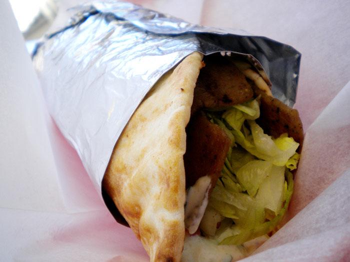 Beef shawarma, Arabica Cafe, Colorado Springs