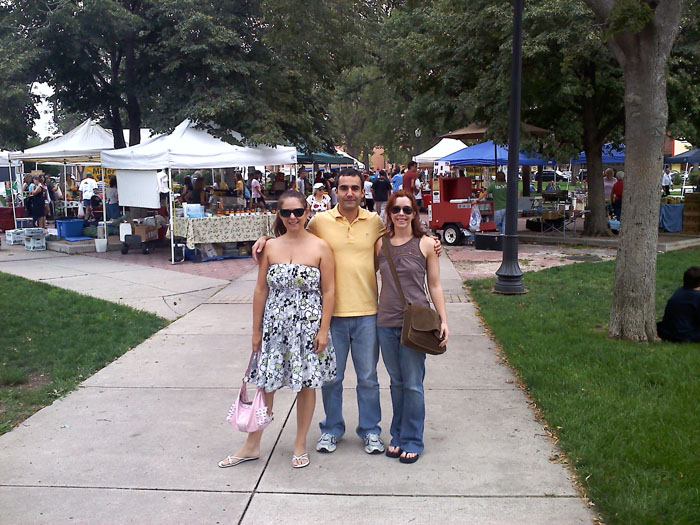 Farmers Market in Acacia Park, downtown Colorado Springs