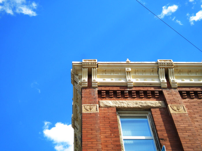 Victorian brick building in Florence, CO