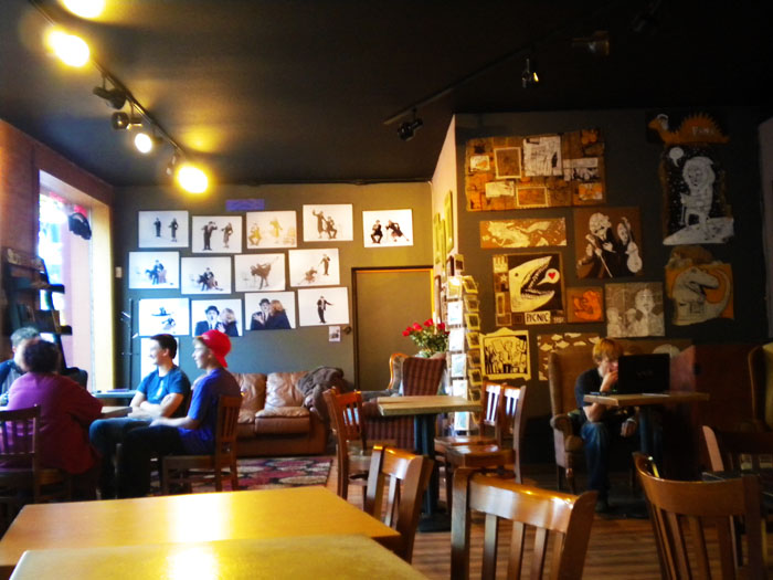 The very spacious and cozy Jives Coffee Lounge in Old Colorado City, Colorado Springs, Colorado