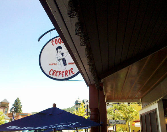 Coquette Creperie in Manitou Springs