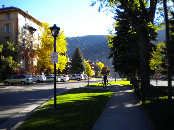 A bike ride in Glenwood Springs, CO