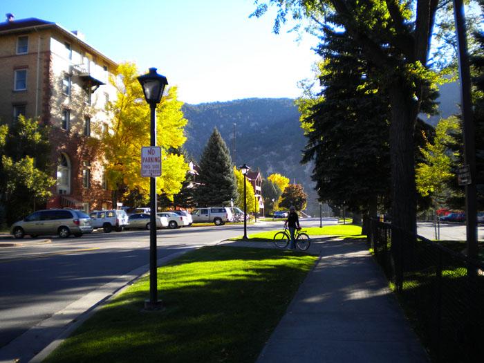 A bike ride in Glenwood Springs, CO