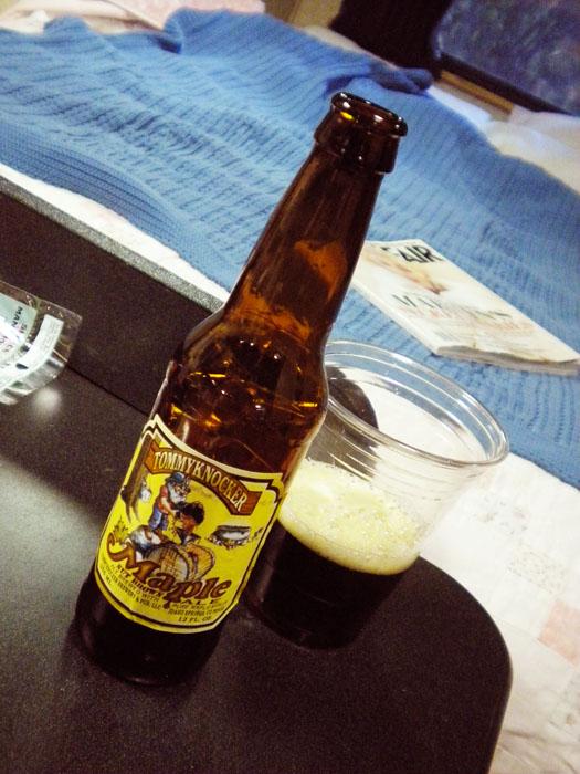 Tommyknocker maple beer from Idaho Springs- yummy!