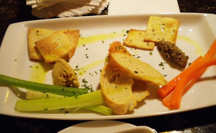 Three Dip Vegetarian Apero