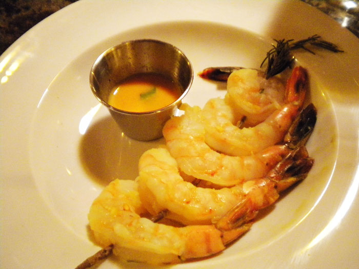 Rosemary Citrus Shrimp Skewers