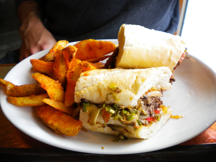 Southwest Steak Sandwich, Carver Brewing Company, Durango, CO