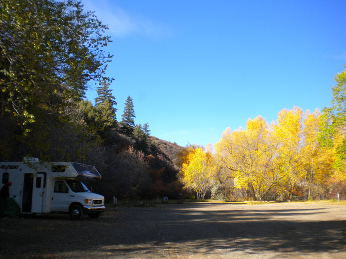 Cottonwood Camper Park, downtown Durango, CO