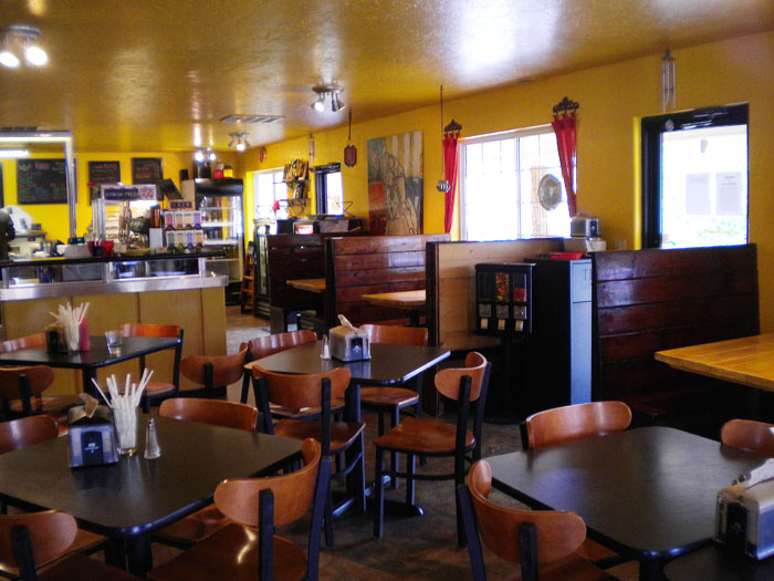 Very cute little Farrago Market Cafe in Pagosa Springs, CO