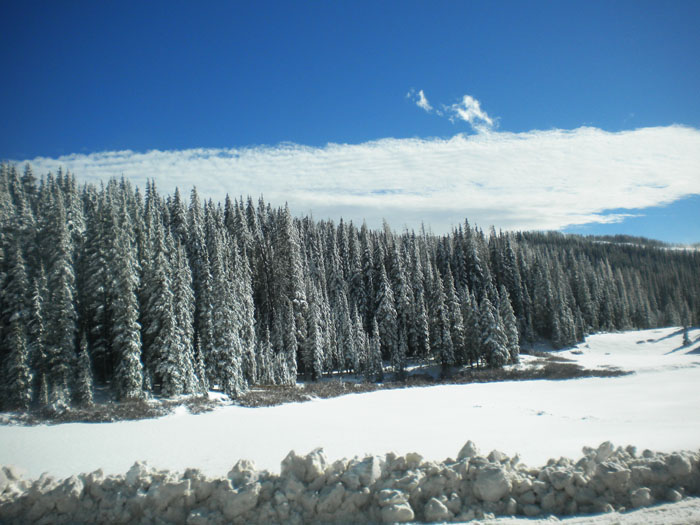 Colorado mountain pass