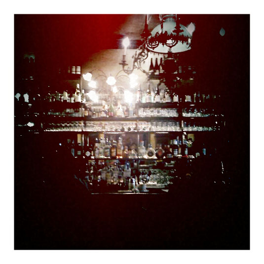 The bar at Cafe Figaro, Los Angeles, CA, taken with my android