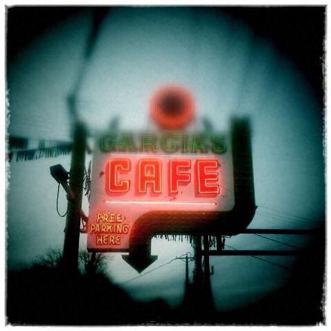 A cafe in Albuquerque, New Mexico