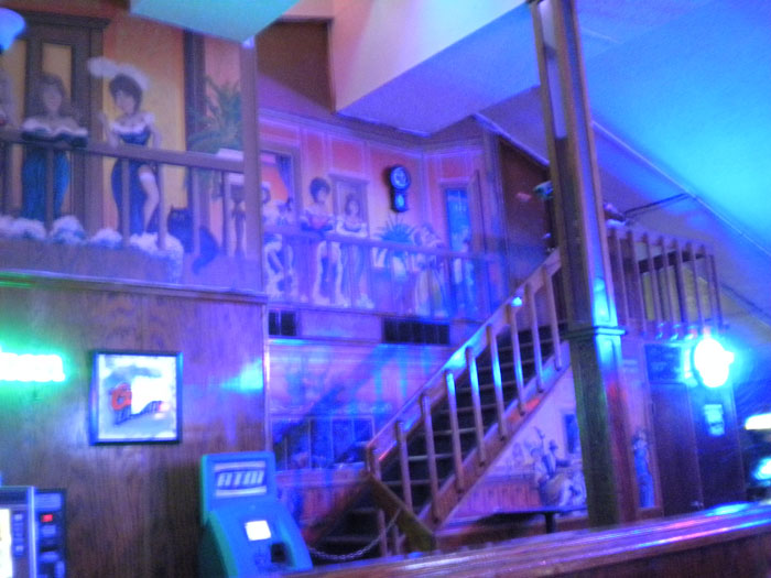 Belle's Lounge, a great west-side dive bar in Colorado Springs.