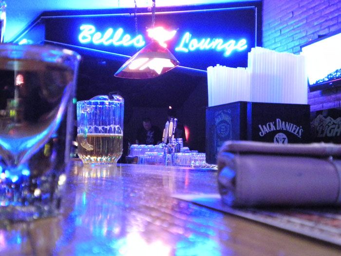 Belle's Lounge, a west-side dive bar in Colorado Springs