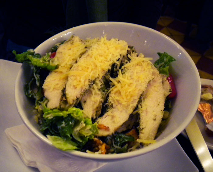 Chicken salad from Cafe Figaro, Los Angeles, CA