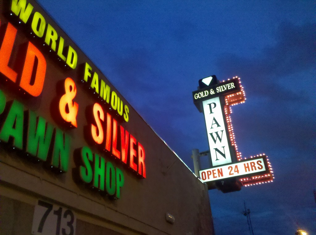 Gold and Silver Pawn Shop from the TV show Pawn Stars