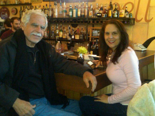 Dad and me at Shuga's, Colorado Springs