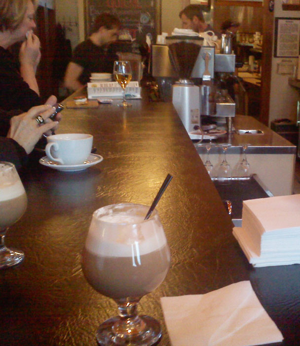 Hot coffee cocktail, Shuga's, Colorado Springs