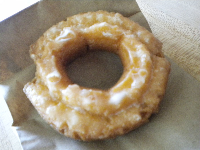 Glazed old-fashioned at Daylight Donuts in Colorado Springs
