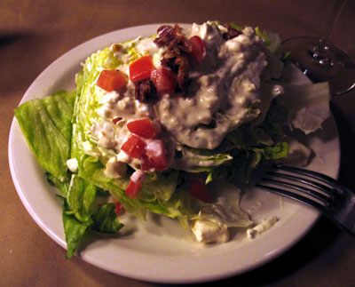 Iceberg wedge at Ted's Montana Grill, Colorado Springs