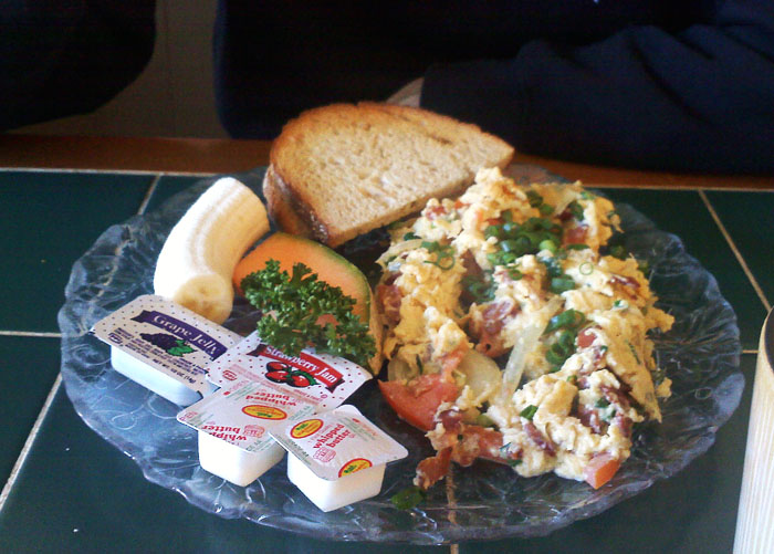 Some kind of scramble at The European Cafe, Manitou Springs, CO