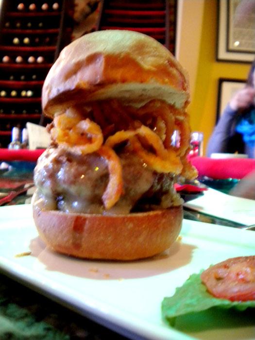 Cheeseburger at Nosh