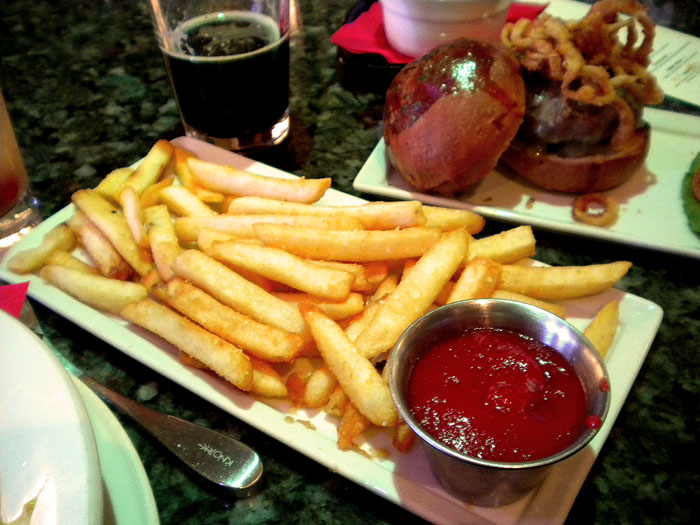 French fries at Nosh