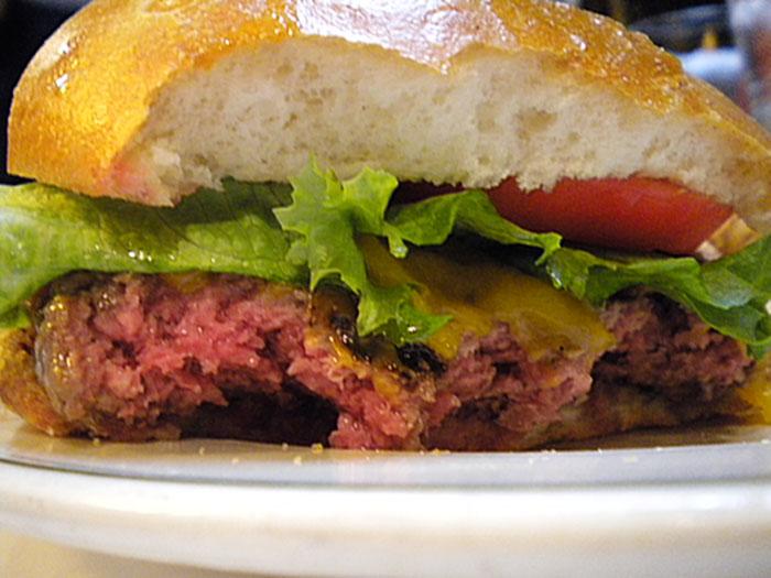 Cheeseburger at MacKenzie's