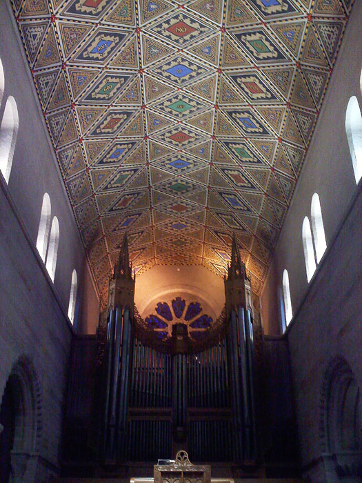 Inside Shrove Memorial Chapel, Colorado College, Colorado Springs