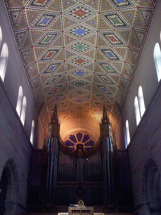 Inside Shrove Memorial Chapel, Colorado College, Colorado Springs