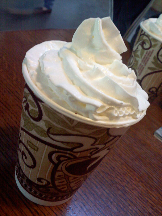 Hot chocolate from Wooglin's Deli, Colorado Springs