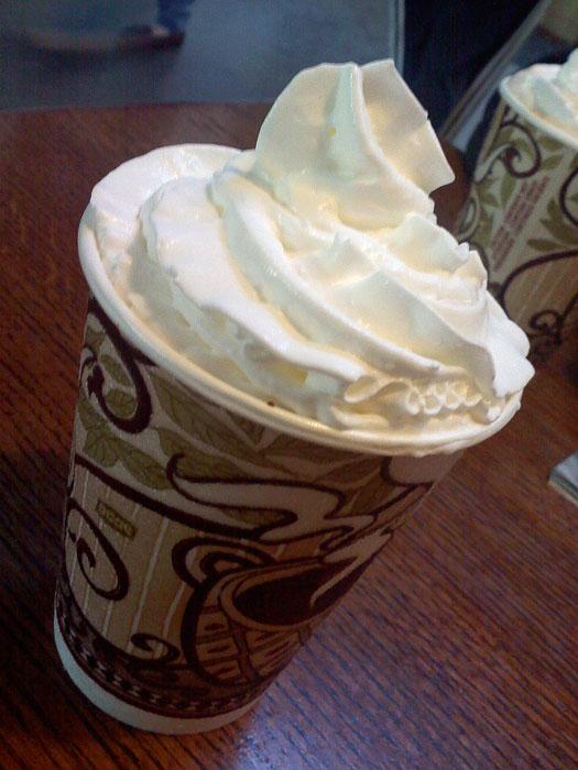 Hot chocolate from Wooglin's Deli, Colorado Springs