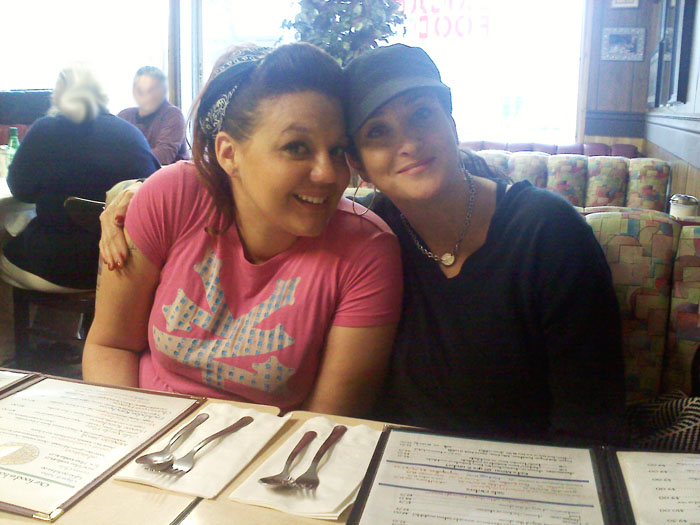 Jessika and Janel at Vallejo's, Colorado Springs.