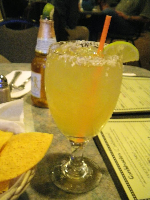 Margarita at Cafe El Paso