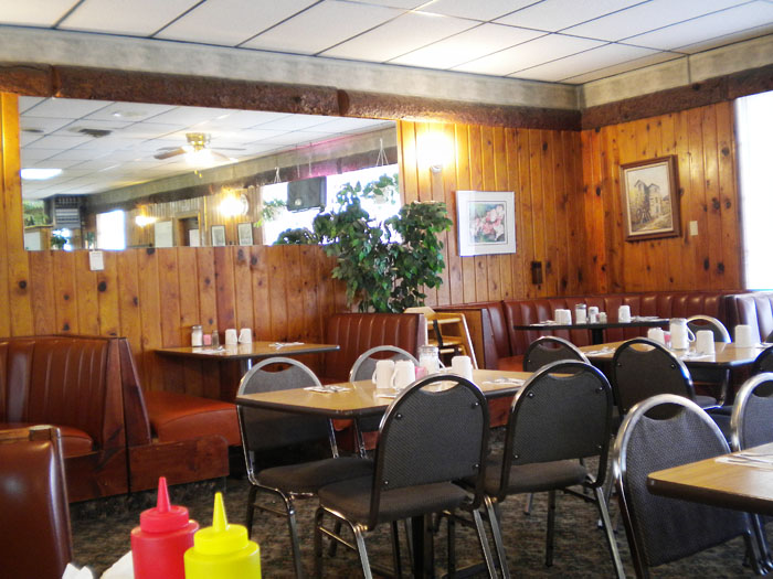 Detz Cafe, downtown Colorado Springs.
