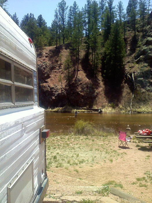 Camping trip, Deckers, Colorado