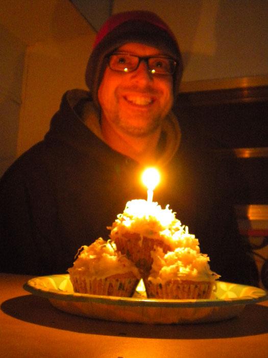 Birthday cupcakes, 2011